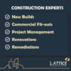 شرکت ساختمانی لاتیس – طراحی و اجرا پروژههای مسکونی و تجاری